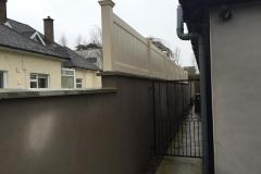 upvc privacy fence